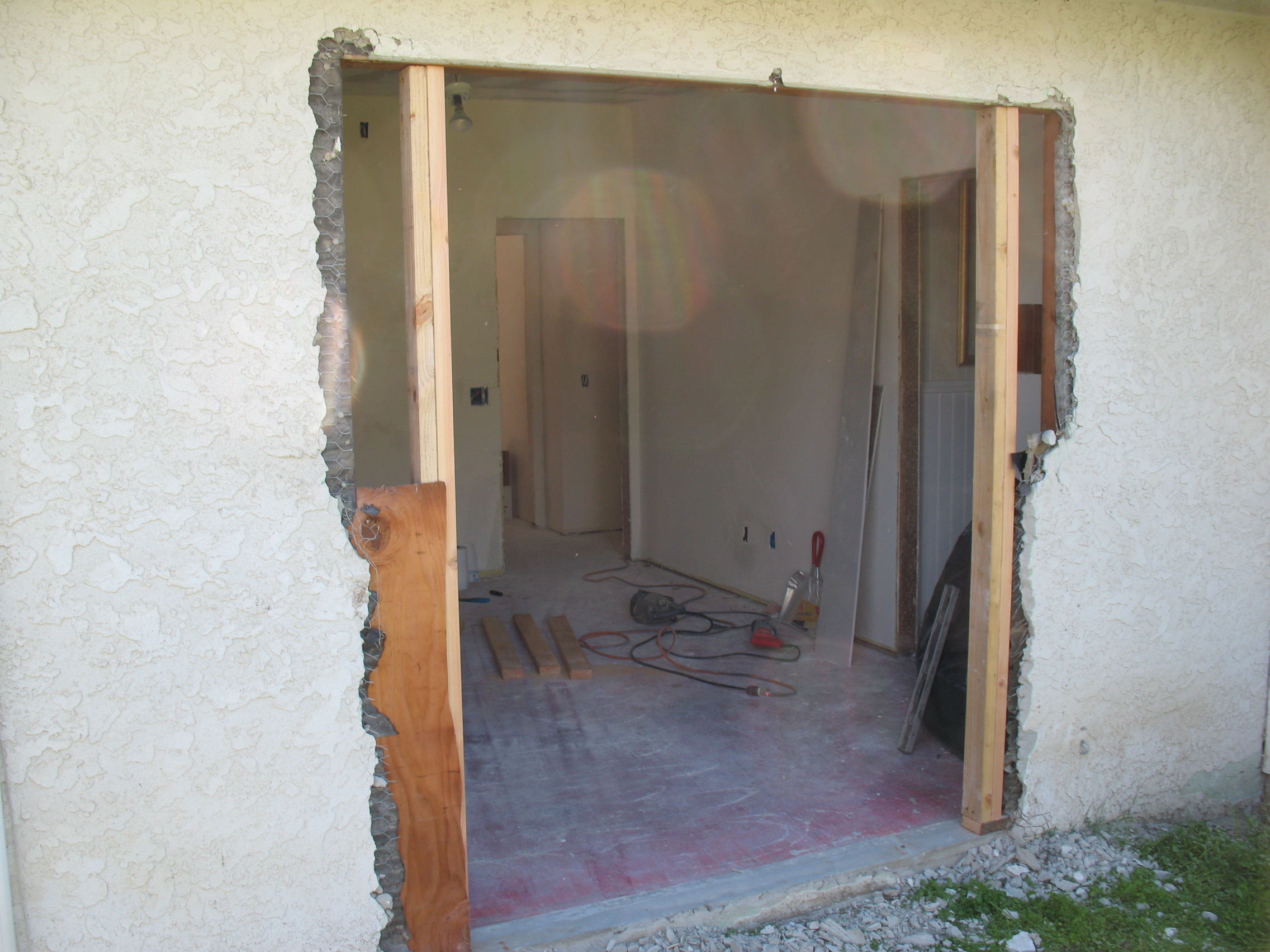 Install french door remodel pictures and tips for Installing french doors