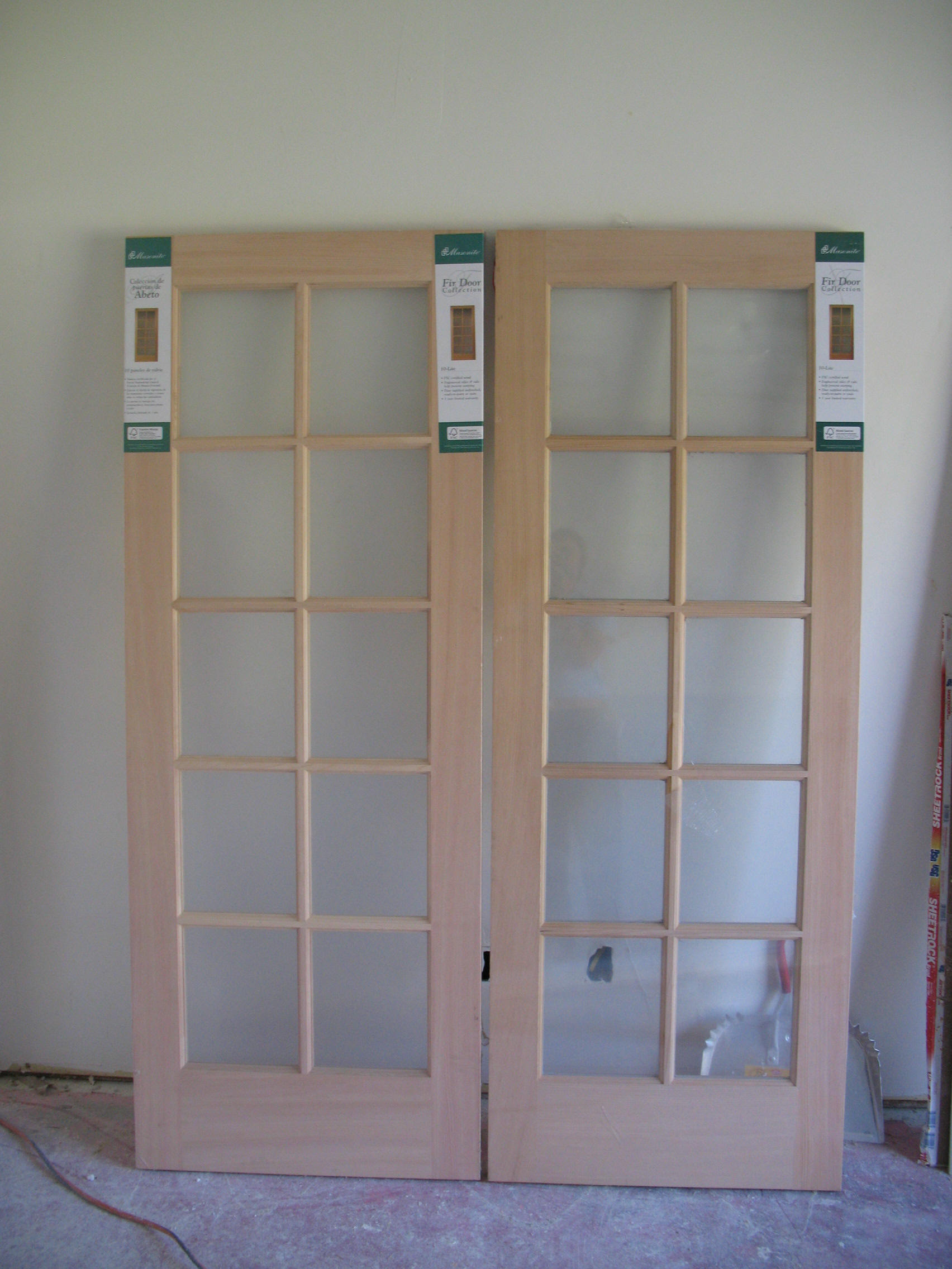 Install french door remodel tips for home improvements for Installing french doors